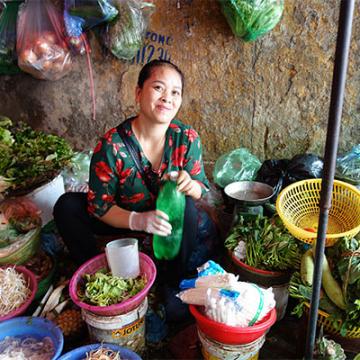 Les marchés locaux de Hanoi
