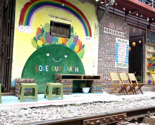 The Railway Café Hanoi