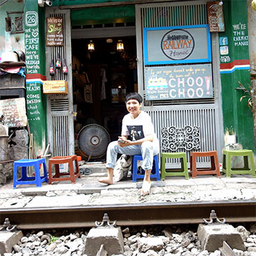Food tour et marché local avec The Railway Hanoi