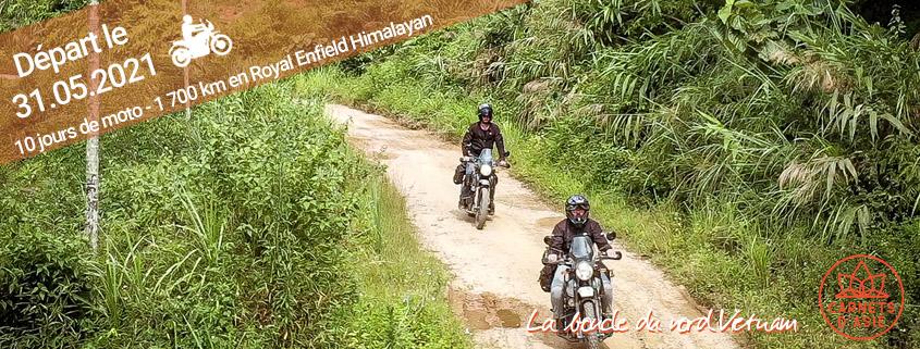 Road Trip moto en groupe au Vietnam