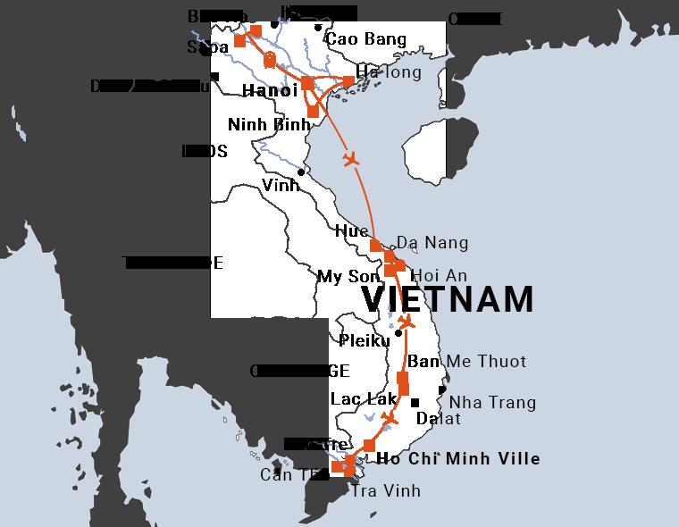 Découverte des différentes cultures du Vietnam en 18 jours