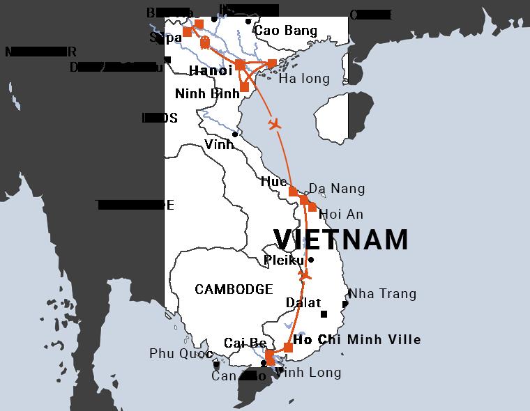 Découverte du Vietnam en 15 jours